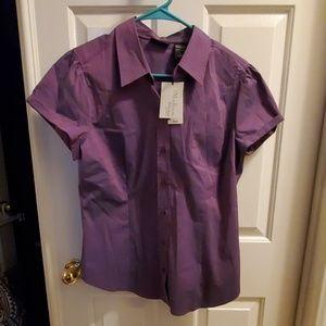 "New York & Co. ""The Madison"" Short Sleeve Shirt"